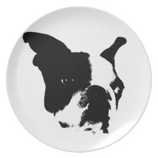 French Bulldog Plate