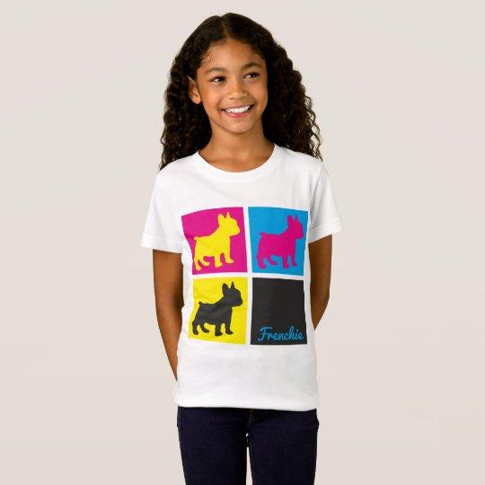 French Bulldog Pop Art T-shirt