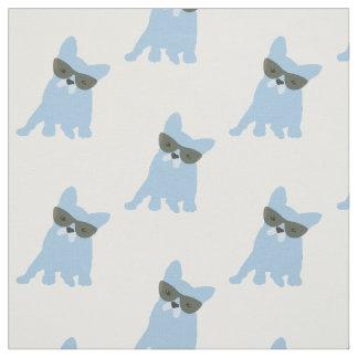 French Bulldog Print Fabric
