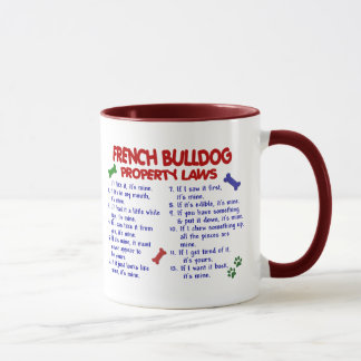 FRENCH BULLDOG Property Laws 2 Mug