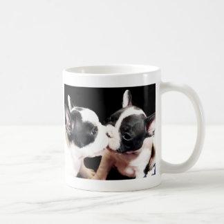 French bulldog puppies basic white mug