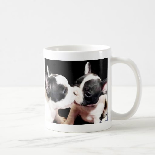 French bulldog puppies mug