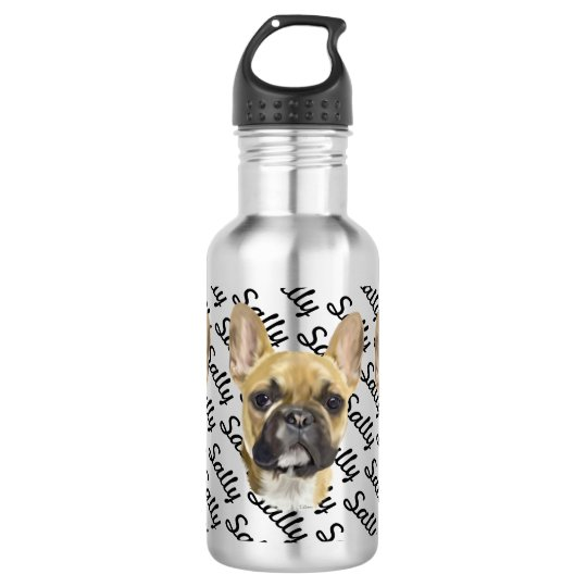 French Bulldog Puppy 532 Ml Water Bottle