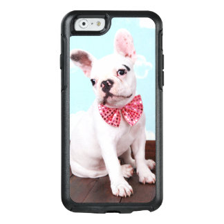 French Bulldog Puppy ( 7 Month Old) With Pink Bow OtterBox iPhone 6/6s Case