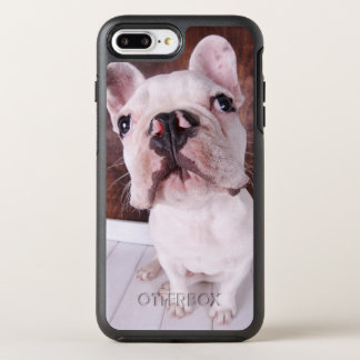 French Bulldog Puppy (7 Months Old) OtterBox Symmetry iPhone 8 Plus/7 Plus Case