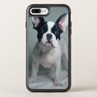 French Bulldog Puppy At Attention OtterBox Symmetry iPhone 8 Plus/7 Plus Case
