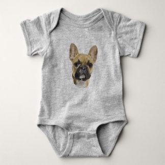 French Bulldog Puppy Baby Bodysuit