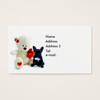 French Bulldog Puppy Business card