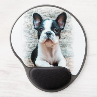 French Bulldog puppy Gel Mouse Mat