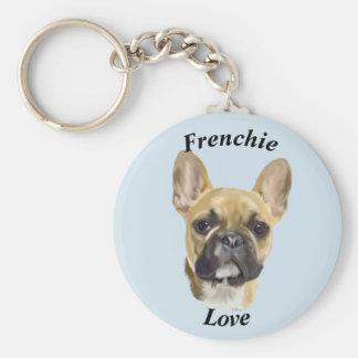 French Bulldog Puppy Key Ring
