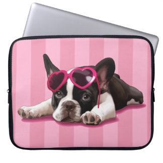 French Bulldog Puppy Laptop Sleeve