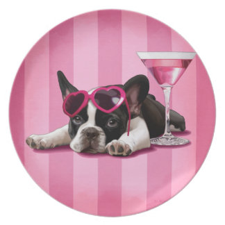 French Bulldog Puppy Plate