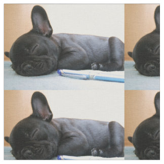 french bulldog puppy.png fabric