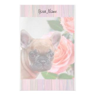 French Bulldog puppy stationary Customized Stationery