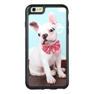 French Bulldog Puppy With Pink Bow OtterBox iPhone 6/6s Plus Case