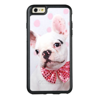 French Bulldog Puppy With Polka Dots OtterBox iPhone 6/6s Plus Case