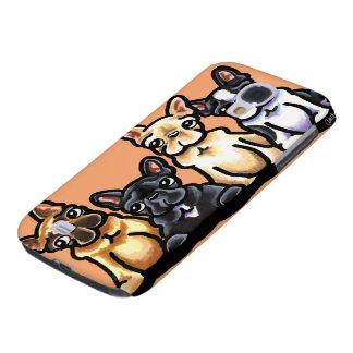 French Bulldog Quartet Galaxy S4 Case