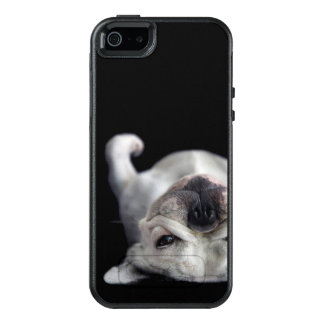 French Bulldog Resting On His Back OtterBox iPhone 5/5s/SE Case