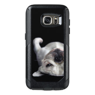 French Bulldog Resting On His Back OtterBox Samsung Galaxy S7 Case