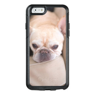French bulldog resting on sofa OtterBox iPhone 6/6s case