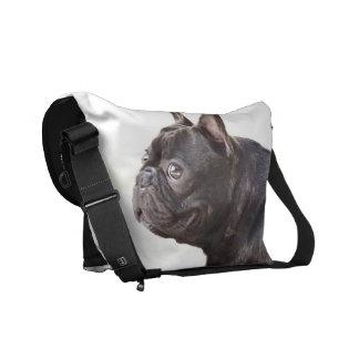 French Bulldog Rickshaw Messenger Bag