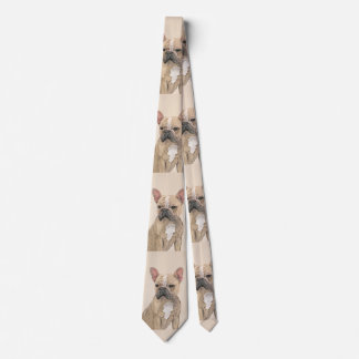 French Bulldog (Sable) Tie