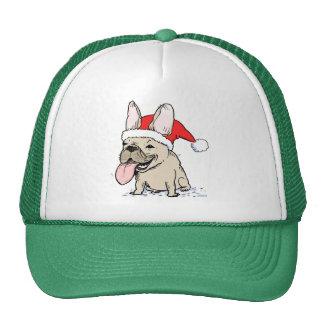 French Bulldog Santa Clause Cap