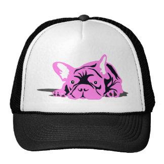 French Bulldog Silhouette Cap
