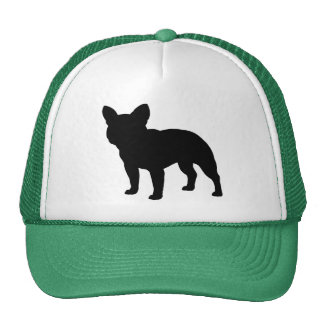 French Bulldog Silhouette Hat