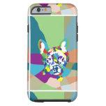 French Bulldog sitting Tough iPhone 6 Case