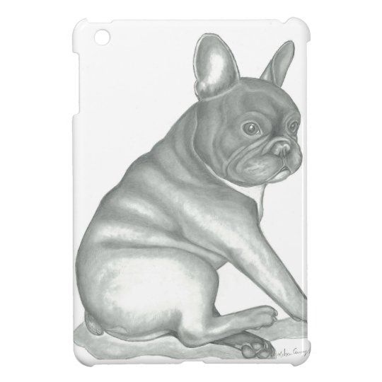 French Bulldog sketch iPad mini case