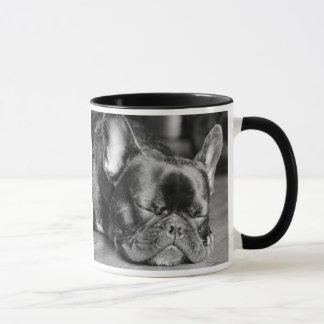 French Bulldog Sleeping Dog Breed Mug