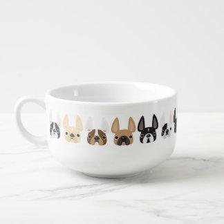 French Bulldog Soup Mug