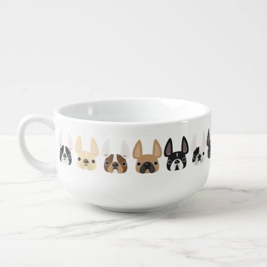 French Bulldog Soup Mug
