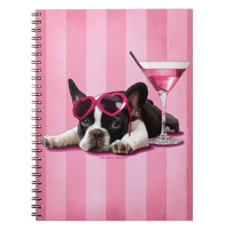 French Bulldog Spiral Notebook