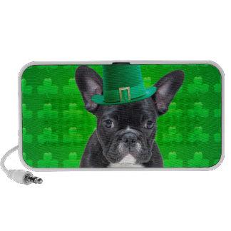 French Bulldog St Patrick's Day Mp3 Speaker