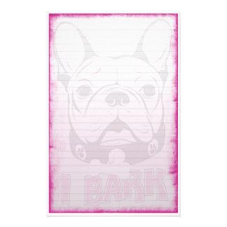 French Bulldog Stationary Stationery