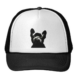 French Bulldog Stencil Design Cap