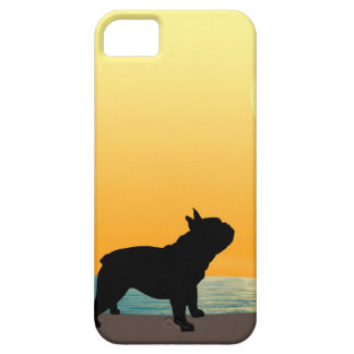 French Bulldog Surfside Sunset Barely There iPhone 5 Case