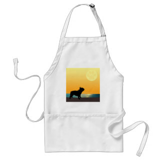 French Bulldog Surfside Sunset Standard Apron