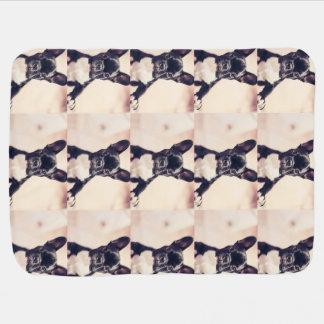 French Bulldog Swaddle Blankets