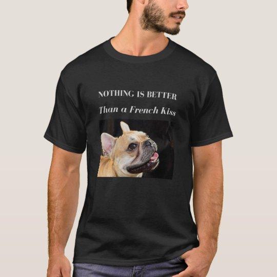 French Bulldog T-shirt French Kiss