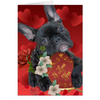 French Bulldog Valentine Cards