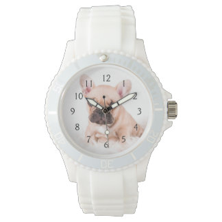 French bulldog. watch
