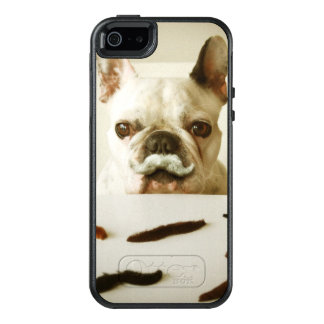 French Bulldog With A Mustache OtterBox iPhone 5/5s/SE Case