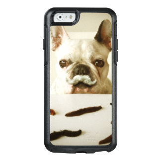 French Bulldog With A Mustache OtterBox iPhone 6/6s Case