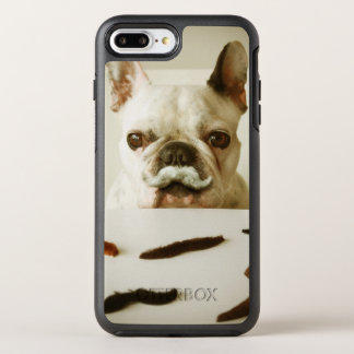 French Bulldog With A Mustache OtterBox Symmetry iPhone 8 Plus/7 Plus Case