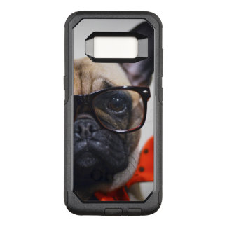 French Bulldog With Glasses And Bow Tie OtterBox Commuter Samsung Galaxy S8 Case