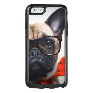 French Bulldog With Glasses And Bow Tie OtterBox iPhone 6/6s Case