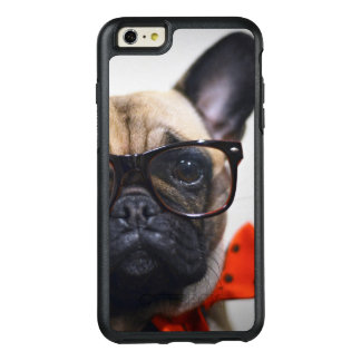 French Bulldog With Glasses And Bow Tie OtterBox iPhone 6/6s Plus Case